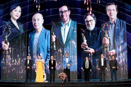 中央广播电视总台和北京市相关领导阎晓明、杜飞进等出席了开幕式典礼