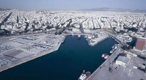 """希腊比雷埃夫斯港,是""""21世纪海上丝绸之路""""进入欧洲后的大港。新华社发(帕诺斯·托马达基斯摄)"""